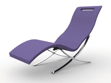 Polyethylene lounge chair SERENDIPITY® CHAISE S120