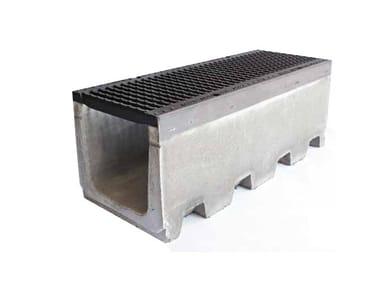 Canale in cemento vibrocompresso SERIE R365