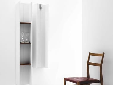 Vertical wall-mounted towel warmer SERIE T - T2V