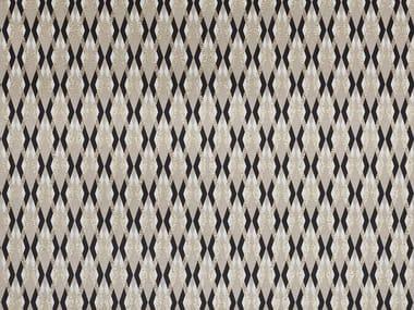 Tissu en coton à motifs graphiques SERPENTINO
