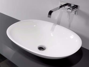 Lavabo da appoggio in Ceramilux® SERVO