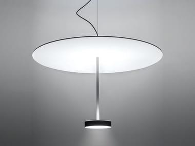 Lampada a sospensione a LED in alluminio SERVOLUCE | Lampada a sospensione