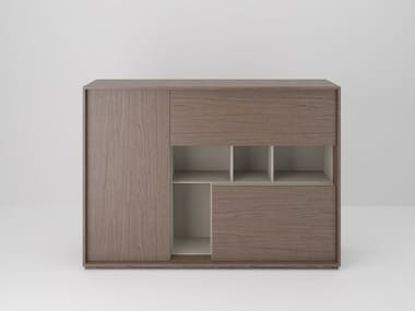 Office storage unit with hinged doors SESSANTA | Office storage unit