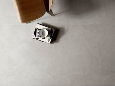Porcelain stoneware wall/floor tiles with concrete effect SET CONCRETE PEARL
