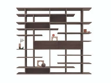Double-sided sectional divider bookcase SET SYSTEM