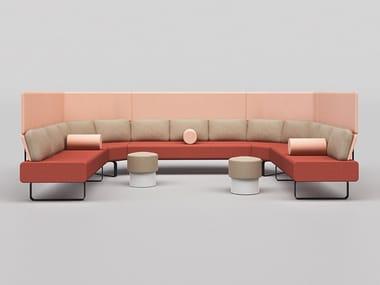 Corner high-back sofa SETTLE