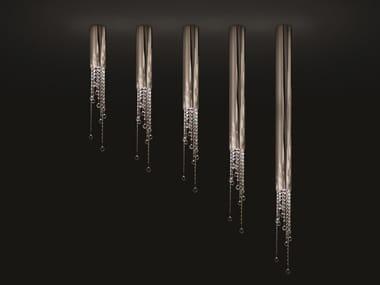 Lampada da soffitto in metallo con cristalli SEXY CRYSTALS C1