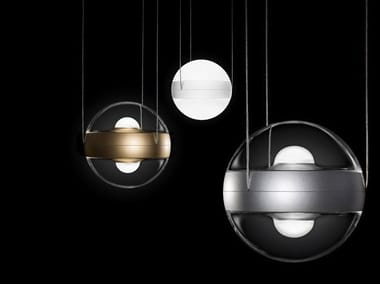 Direct-indirect light pendant lamp SFERICO SOSPESO