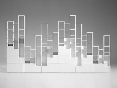 Freestanding bookcase SFUMATO