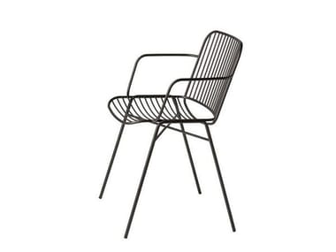 Steel chair with armrests SHADE 626