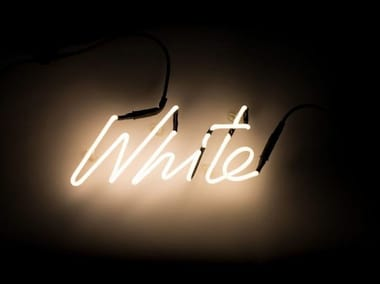 Wall mounted Light letter SHADES WHITE