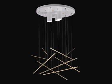 LED metal pendant lamp SHANGHAI | Pendant lamp
