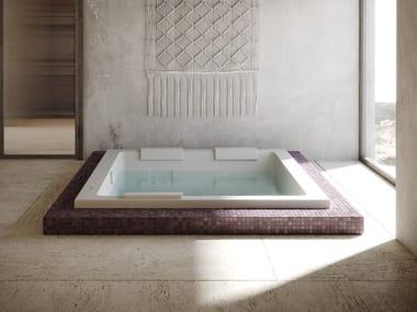 Bañera independiente de hidromasaje rectangular SHARP EXTRA