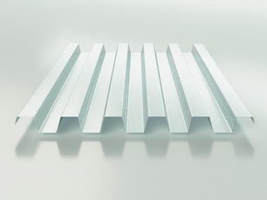 Steel-concrete loadbearing floor slab LG 55
