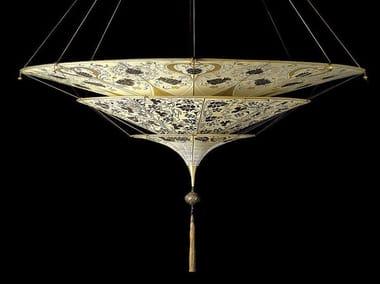 Silk pendant lamp SHEHERAZADE