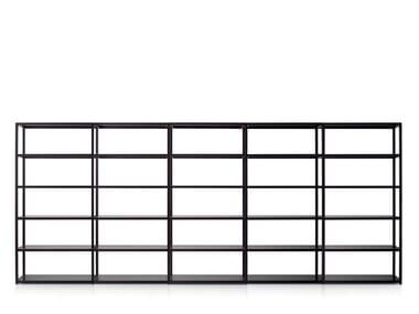 Modular metal office shelving SHELVE | Modular office shelving