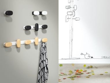 Wall-mounted coat rack SHERWOOD | Wall-mounted coat rack