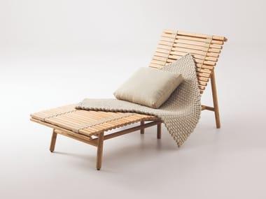 Lettino da giardino in bambù SHIBUI | Lettino da giardino