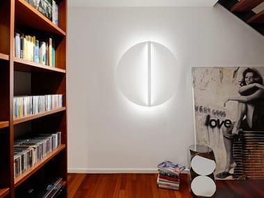 Applique a LED in vetro acrilico SHIELD ROUND | Applique