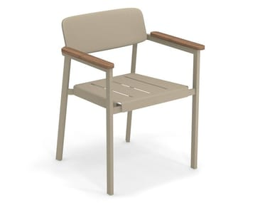 Easy chair SHINE | Chair with armrests