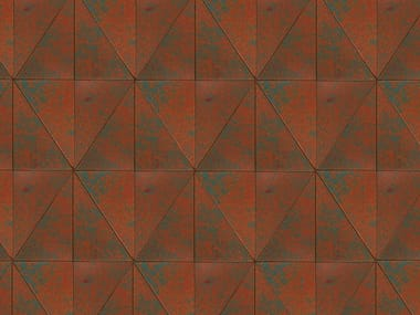 Indoor leather wall tiles SHINE