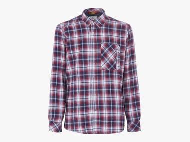 Camicia da lavoro in flanella SHIRT CHECK CORSARO/STAR WHITE/ROSSO