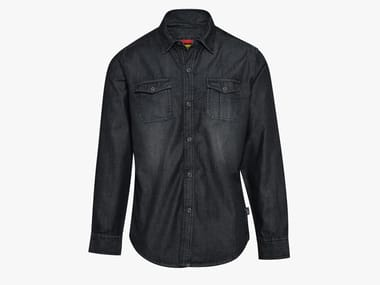 Camicia da lavoro in denim SHIRT DENIM NEW BLACK WASHING