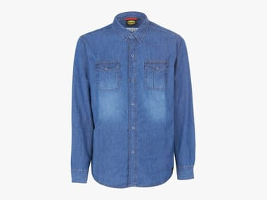 Camicia da lavoro in denim SHIRT DENIM NEW BLU WASHING