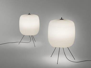 Lampada da terra per esterno a LED in corda SHOJI