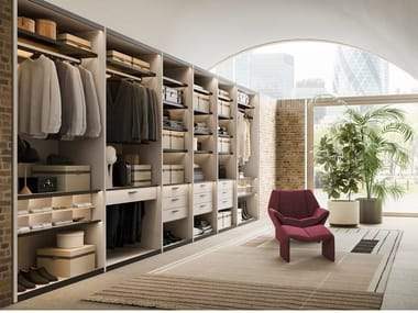 Walk-in wardrobe SHOP