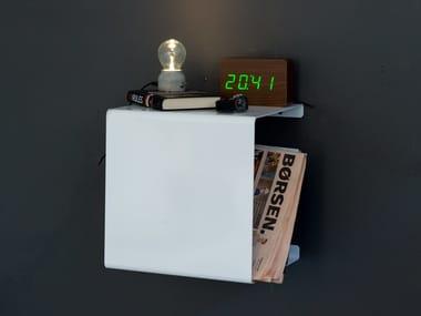 Powder coated aluminium wall shelf SHOWCASE#0