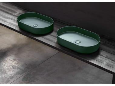 Lavabo da appoggio ovale SHUI COMFORT | Lavabo ovale