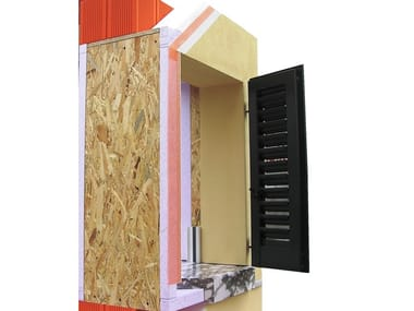 Insulated box in EPS for windows with Shutters SHUTTER BOX - SHUTTER