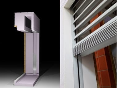 Insulated box in EPS for windows with Sunblinds SHUTTER BOX - SUNBLIND