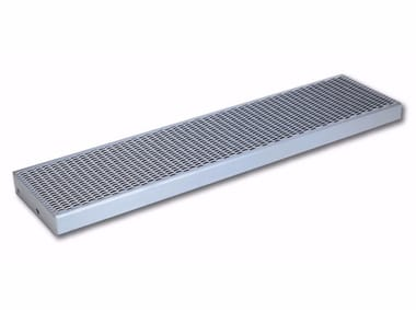 Gradino in acciaio SICURFILS | Gradino