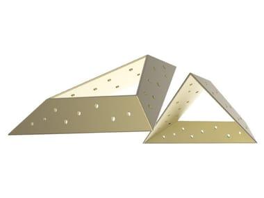 Metal shelf support SIDE TO SIDE