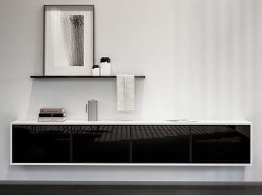 Lacquered suspended sideboard SieMatic PURE COLLECTION | Sideboard