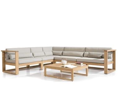 Teak sofa SIENA | Sofa