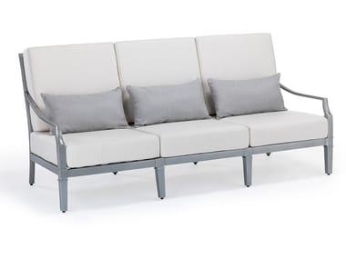 3 seater aluminium garden sofa SIENNA | 3 seater garden sofa