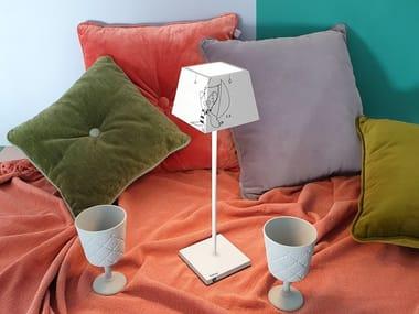 Lampada da tavolo per esterno in alluminio pressofuso senza fili SIESTA LIMITED EDITION