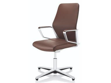 Leather office chair / training chair SIGNO | Training chair