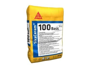 Adesivo in polvere per piastrelle ceramiche SIKACERAM®-100 BASIC