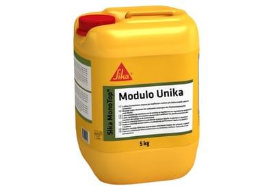 Additivo liquido per accelerare la presa della malta SIKA MONOTOP® MODULO UNIKA