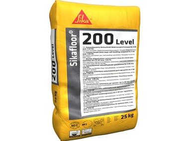 Livellina cementizia monocomponente SIKAFLOOR®-200 LEVEL
