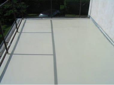 Polyurethane Outdoor continous flooring SIKAFLOOR®-400 N ELASTIC