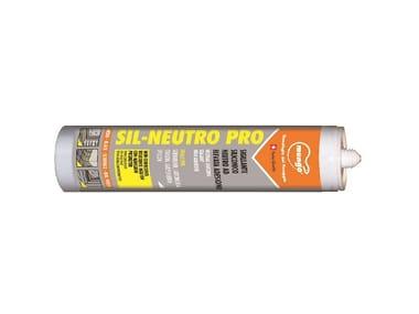 Silicone neutro con antimuffa SIL-NEUTRO PRO