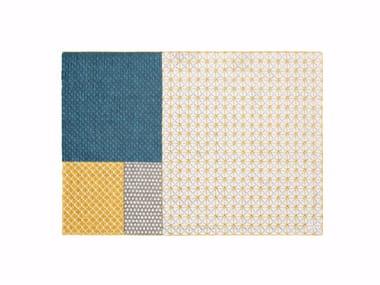 Handmade rectangular fabric rug SILAÏ | Rug