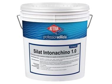 Rivestimento acrilsilossanico a spessore antialga con aspetto di intonachino SILAT INTONACHINO 1.5
