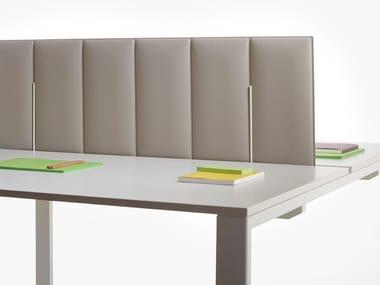Pannello divisorio da scrivania fonoassorbente in tessuto SILENCE | Pannello divisorio da scrivania