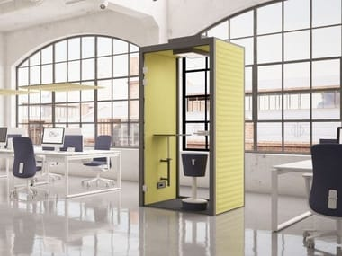 Acoustic phone booth PHONE BOOTH